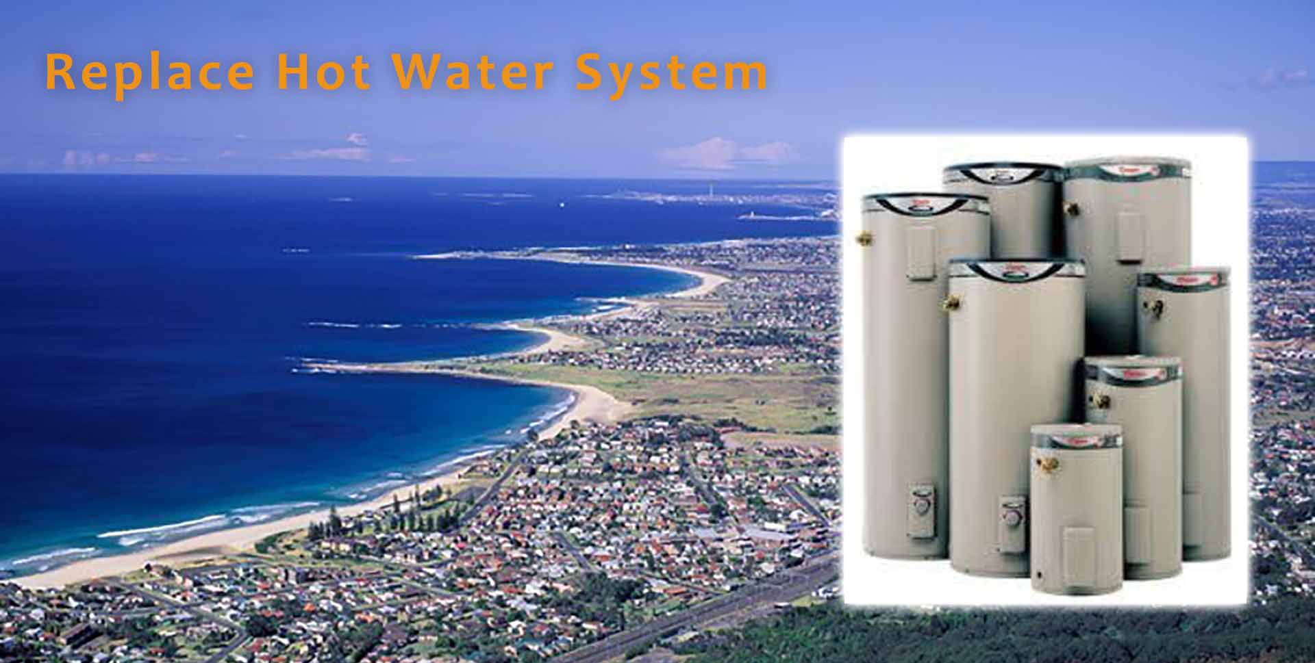 RW Jones Plumbing replacing hot water systems in Wollongong